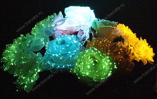 Биогель для цветов светящийся заказать купить цветы на рижской недорого